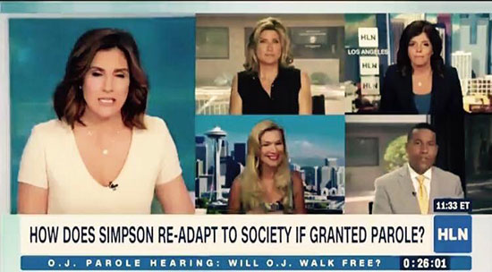 HLN with Anne Bremner on OJ Simpson parole